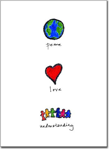 peace, love and understanding?