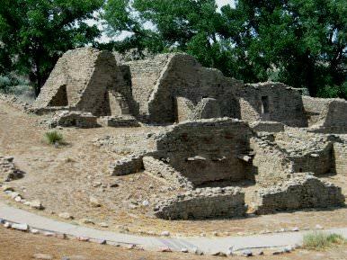Aztec Ruins, July 2003