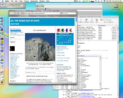 my mac desktop
