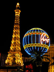 Faux Eiffel Tower