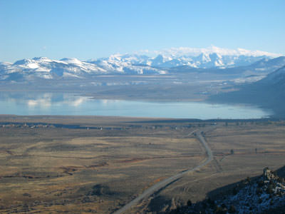 Mono Lake, looking south