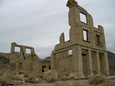 Rhyolite's bank