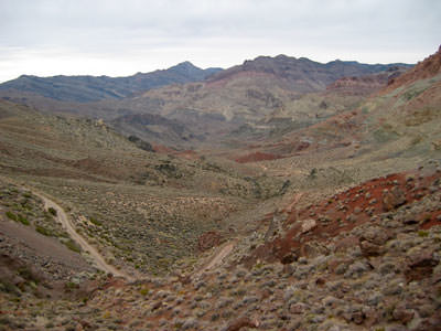 view of Titus Canyon