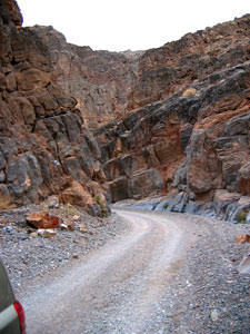 Titus Canyon, western entrance