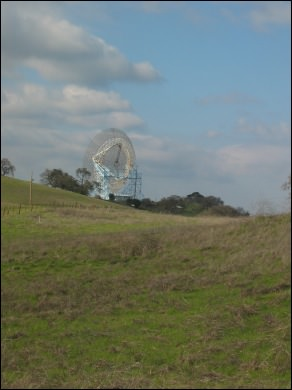 satellite dish near Stanford
