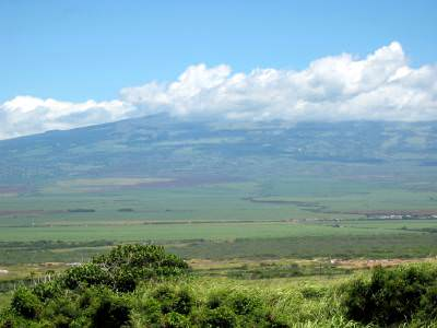 looking across towards Haleakala