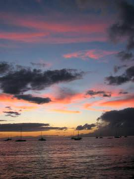 Maui sunset, Lahaina