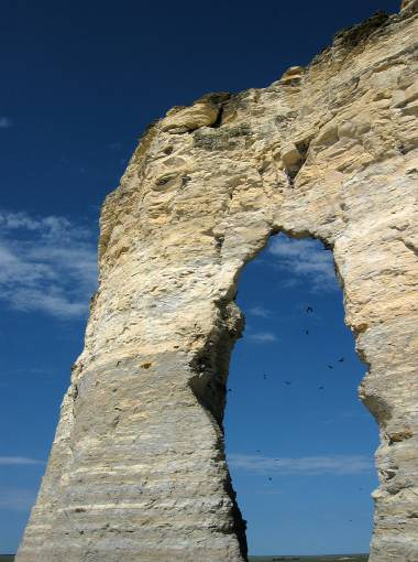 monument rock arch