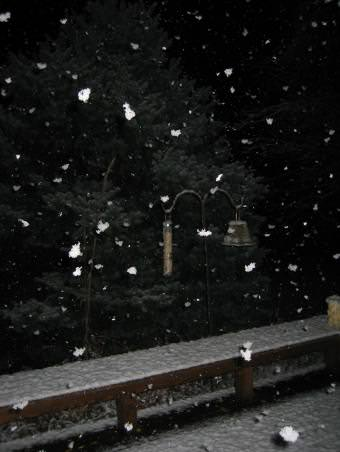 1st snow of 2004