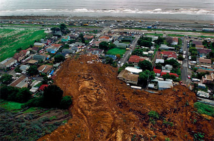 southern CA mud slide