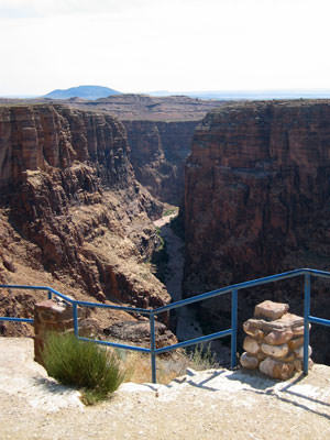 gorge view