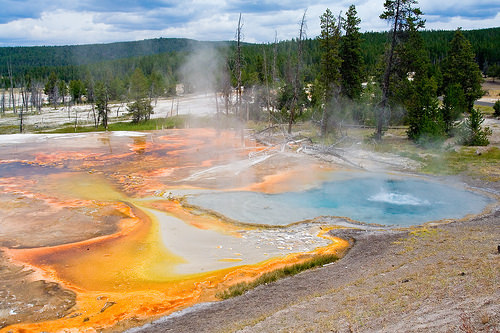 Yellowstone Hot Springs