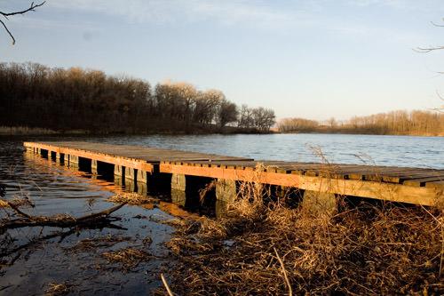 Maxwell Lake dock