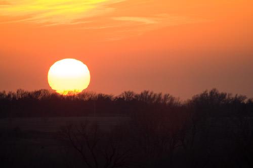 Maxwell sunset