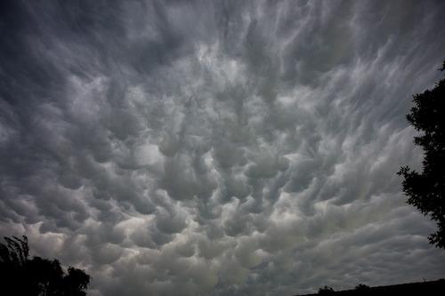 intense clouds