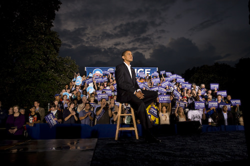 Obama before the storm