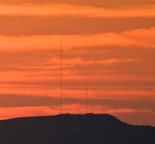 fall sunset 2008
