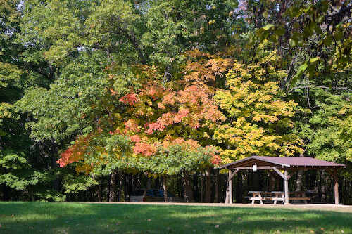 Hannibal fall colors