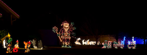 Lindsborg holiday lights