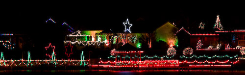 Lindsborg holiday lights