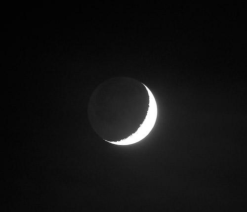 moon, venus, jupiter