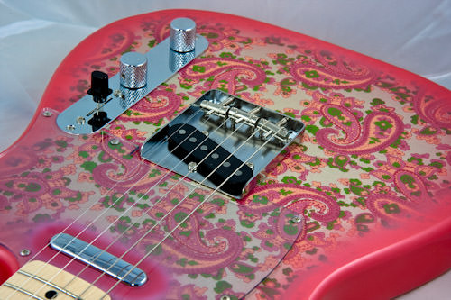 pink paisley telecaster