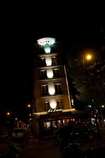 our Paris hotel