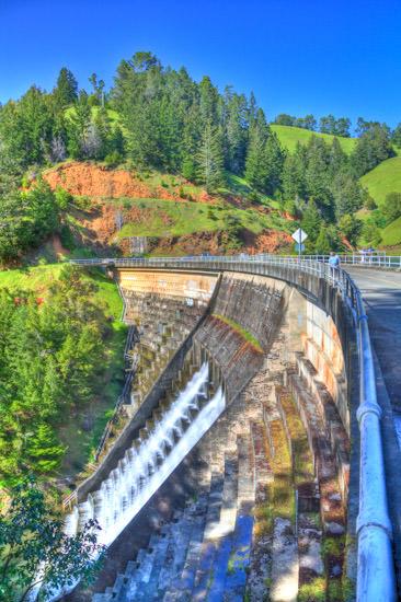 CA Trip 2010: Alpine Lake Dam