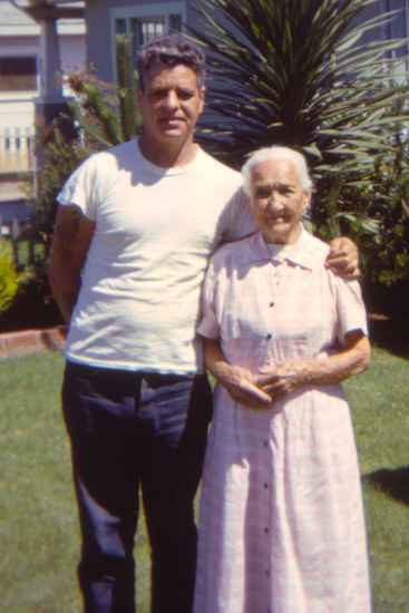 Dad & grandma