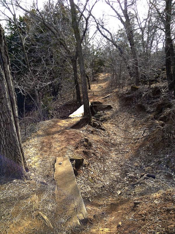 Coronado Heights trail