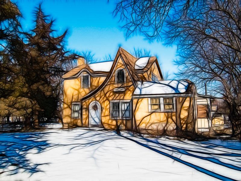 fractalius Anton Pearson house