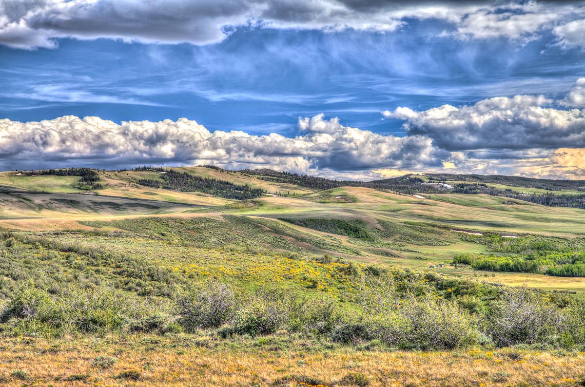 Wyoming rest area