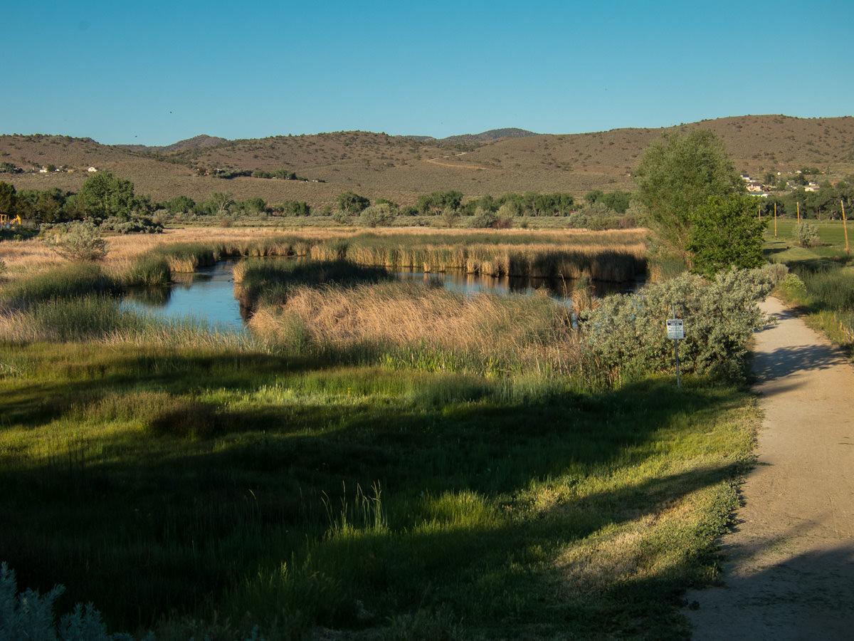 Carson City bike trail