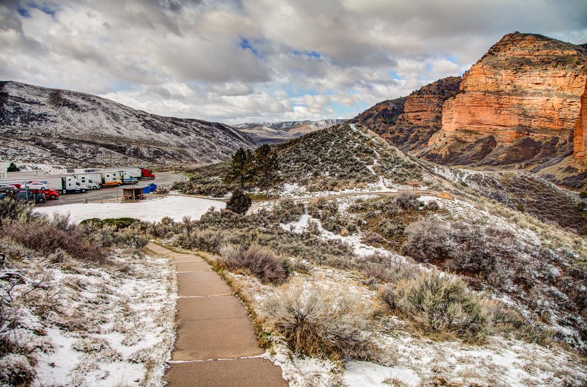 Utah rest area