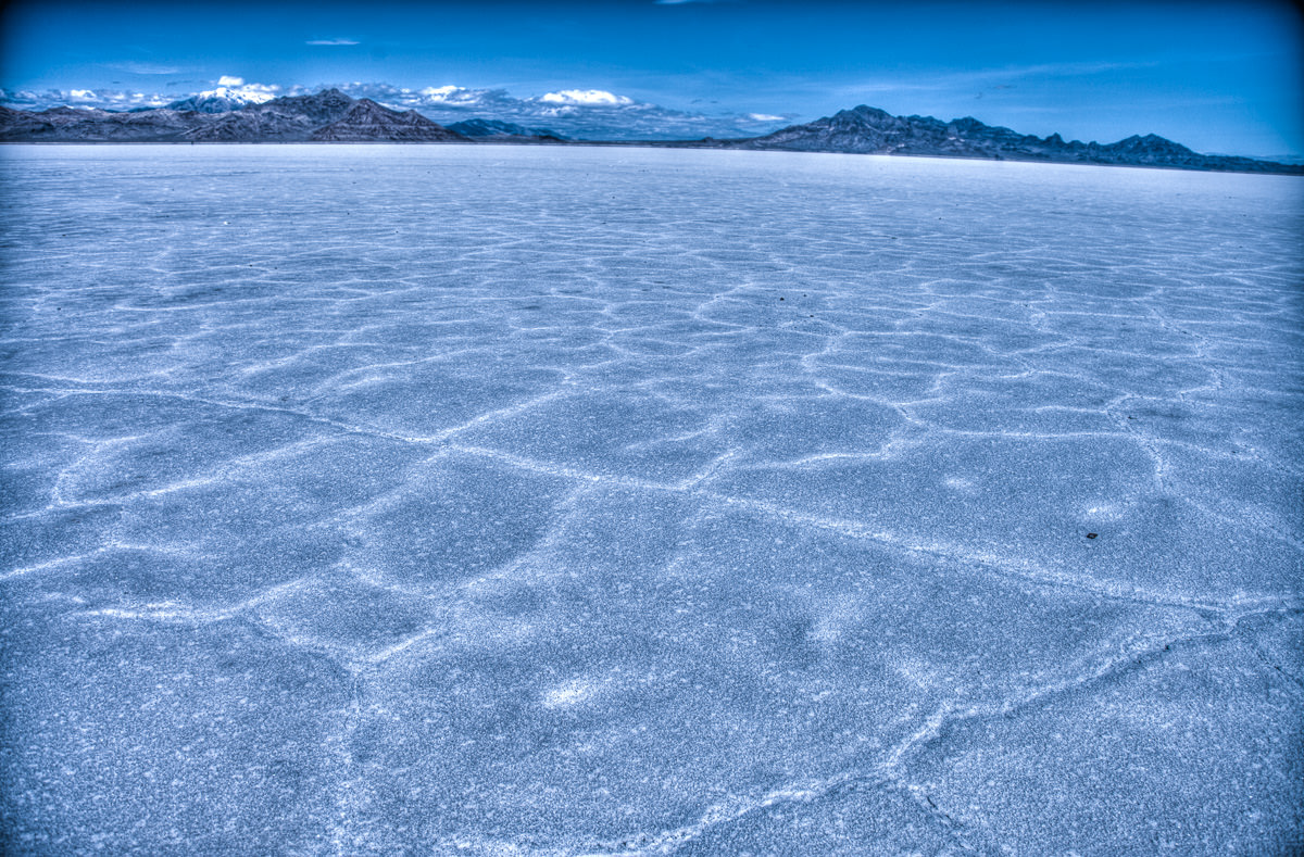 blue Salt Lake