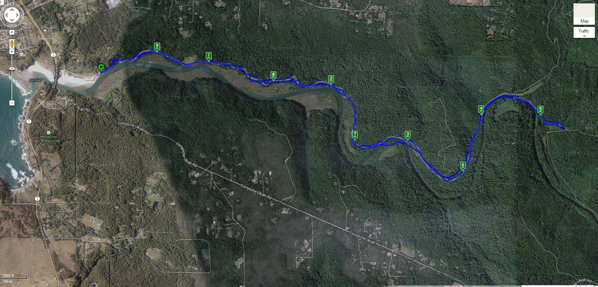 Big River bike ride