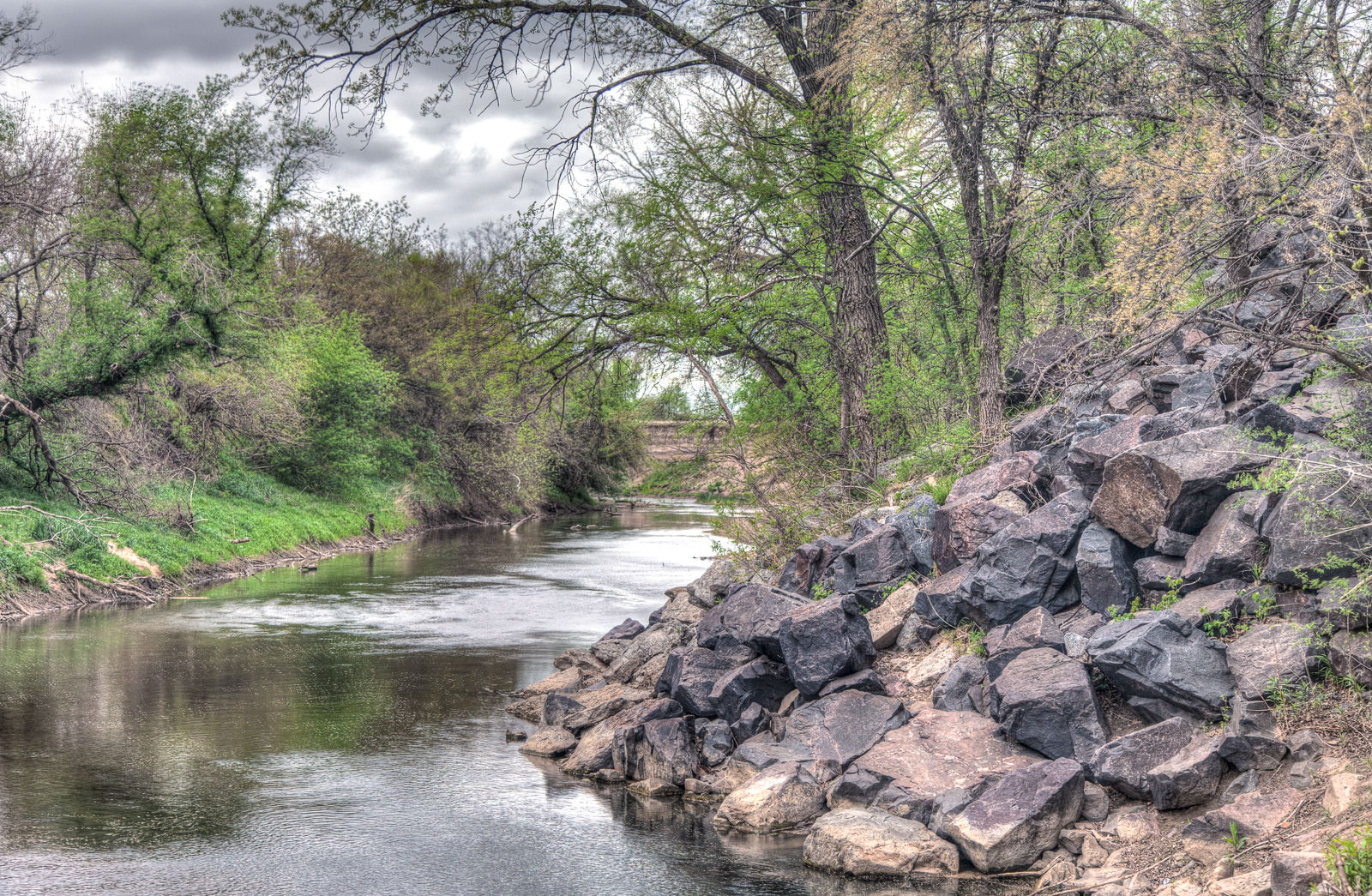 Smoky Hill River, April 2014